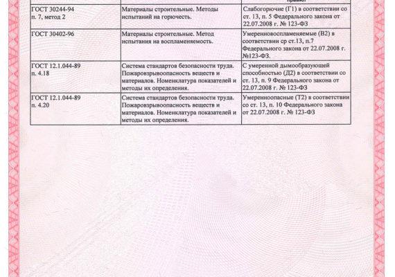 ERFURT-Сертификат соответствия РФ-1