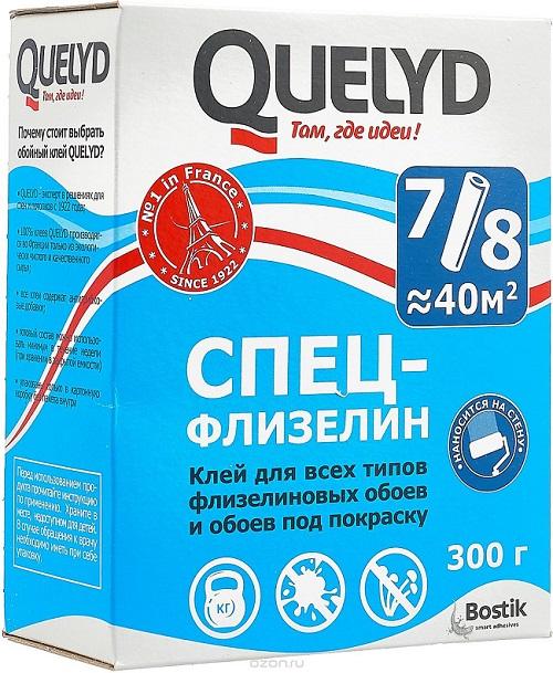 Клей QUELYD СПЕЦ-ФЛИЗЕЛИН 300г